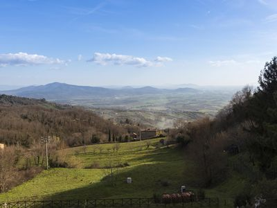 Photo for Apartment near Montalcino with Wi-Fi and swimming pool