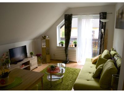 Photo for AusSicht3 - Small but nice apartment with balcony 80m from the Rurseeufer