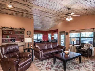 Photo for Bear Butte Lodge, 3 bedrooms, Sleeps 6, Hot Tub, View, Fenced Yard