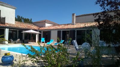 Photo for Spacious villa 3 * for a quiet and relaxing stay 45 minutes from la rochelle