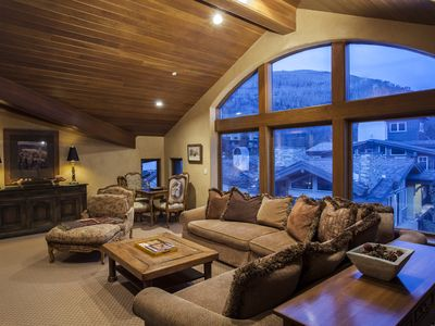 Photo for Located in the heart of Vail Village, steps from Gondola One - Penthouse unit