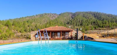 Photo for Finca with pool, sea and montain view for private use, free WIFI