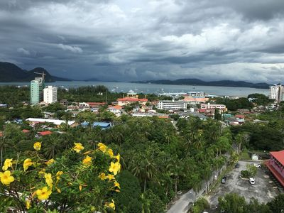 Photo for Magnificent Sea and Rainforest View