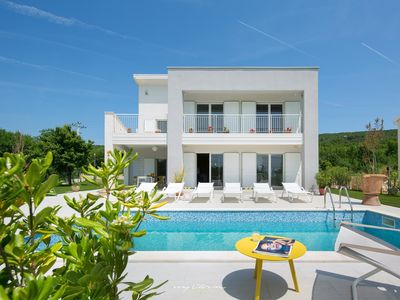 Photo for Stylish villa with private pool near Labin