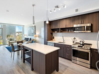 Photo for Sleek 1BR | Upscale Amenities | Business Traveler Friendly | Crystal City by GLS