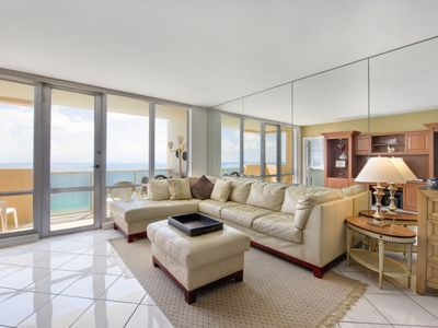 Photo for Direct BeachFront Views in Central Location Between South Beach and North Beach