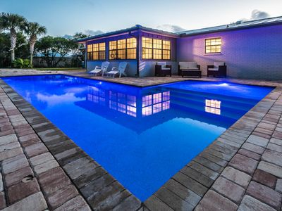 """Photo for """"Salty Maria's"""" Private Heated Pool! Excellent Outdoor Space! Walk to Beach!"""