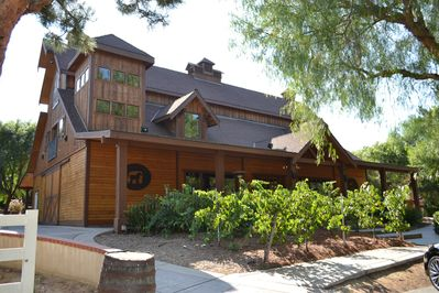 """""""The Grand Lodge"""" This is the Main Tasting Room. Located on the same property."""