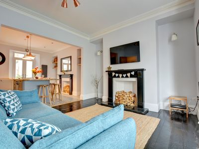 Photo for Weston Terrace a lovely family house is set in an ideal location for a beach holiday right in the he
