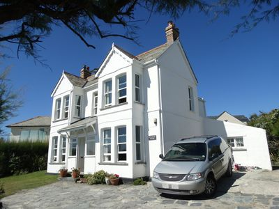 Photo for Large Family House Right By The Beach on Treyarnon Bay