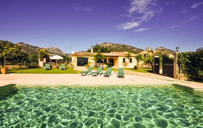 Photo for Large Finca Bambu for 6 persons with pool near Campanets in Alcudia.
