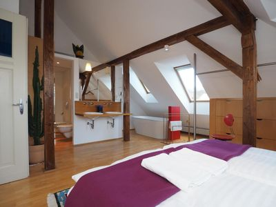 Photo for Light flooded loft apartment, lovingly restored - with a beautiful garden
