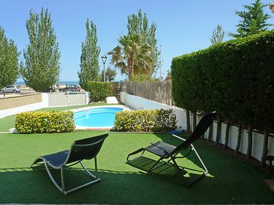Photo for 4 bedroom Villa, sleeps 8 in L'Ampolla with Pool, Air Con and WiFi