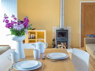 Dining area in Rose Cottage