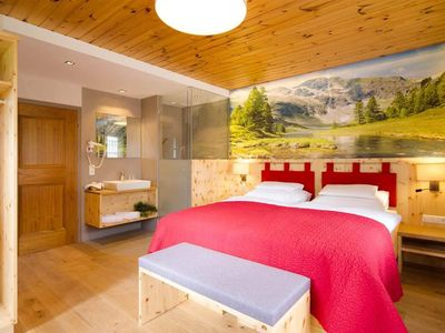 Photo for Double room with shower, WC with balcony - 1. Zirben-Pension Lüftenegger