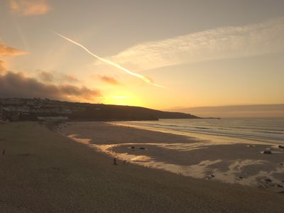 Photo for Lovely Sea Views,  behind the Tate, St.Ives