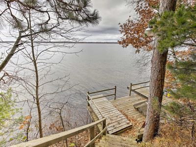 Photo for NEW! Grindstone Lake Waterfront Home w/Dock & Deck