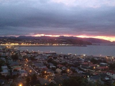 Photo for The Lookout over Lyall Bay