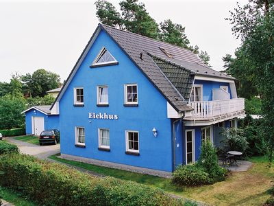Photo for attractive and tastefully decorated in a maritime country style apartment