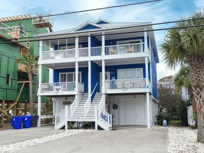 Photo for Treat your family to this magnificent home across the street from the beach.