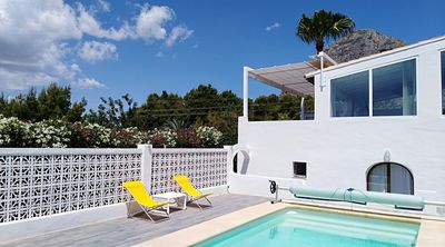 Photo for Beautiful, modern VILLA located very close to the historical centre of JAVEA