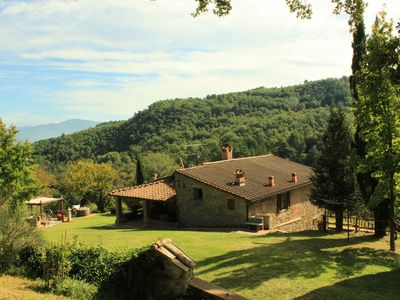 Photo for TUSCANY HOUSE IN POPPI (CASENTINO) WITH SWIMMING POOL