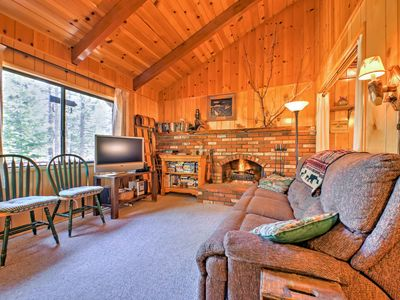 Photo for Cozy Cabin w/Patio - 2 Blocks to the Big Bear Lake