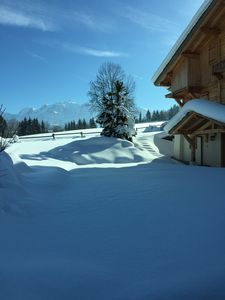 Photo for Luxury Chalet In Countryside 8 Minutes From Megeve Ski Lifts