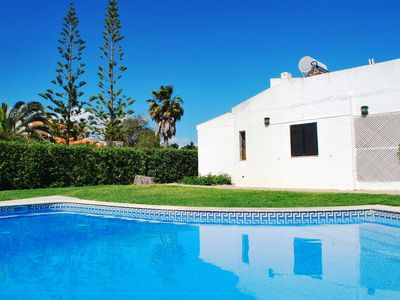 Photo for Villa with pool and garden near the beach of Cabanas