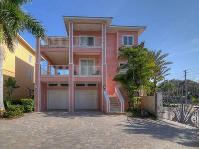 Photo for Key West Style Home - Steps from the beach with a pool! Westwinds Paradise