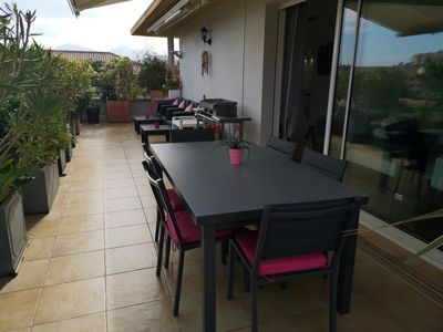 Beautiful luxury apartment, 3 bedrooms, 200 m from the beach and shops -  Calvi