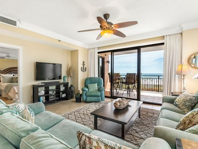 Photo for SeaChase 205W - Gulf Front Views & Beautiful Interior - Corner Unit on 2nd floor