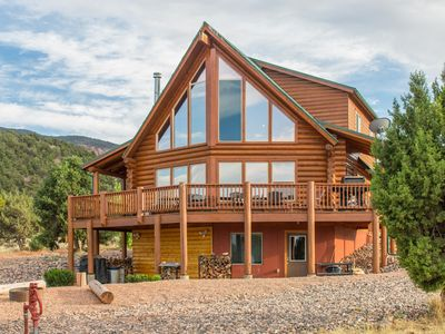 Photo for Red Canyon Circle - Private cabin near Brian Head-Sleeps 24 in beds - on 5 acres