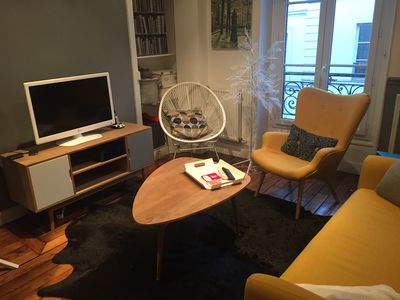 Photo for Three delightful rooms in the heart of Abbesses, between Pigalle and Montmartre