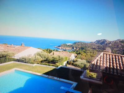 Photo for Duplex apartment with sea views, in a complex with 3 swimming pools and parking
