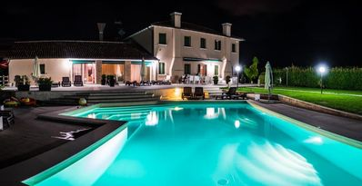 Photo for MAISON DE CHARME luxurious app. in country villa with pool, WIFI, air condit.
