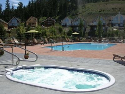 Photo for La Casa Resort poolside cottage- Great for families & close to all amenities!
