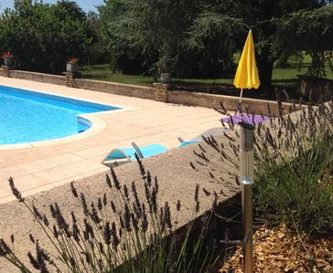 Photo for Peaceful charm rental, 2 people, swimming pool