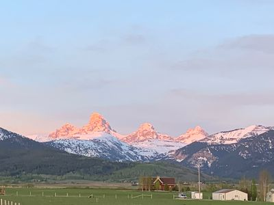 Photo for Outstanding Teton Views and Grand Targhee Views