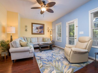 Photo for Modern Sunset Island Townhome with New Furnishings - 1 Block to Pools!