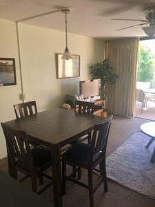 Brand new counter-height dining room table