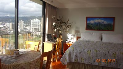 Photo for Private Pleasant Retreat @ Wyndham Royal Garden Resort @ Waikiki
