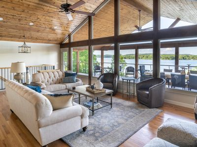 Photo for Water Front Lake House with incredible views.  Brand new to VRBO.