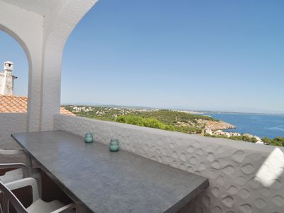 Photo for BEAUTIFUL AND MODERN HOUSE AT 500 METERS FROM THE BEACH AND WITH SEA VIEWS
