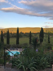 Photo for Luxurious old stonehouse with pool, beautifully situated amidst vineyards