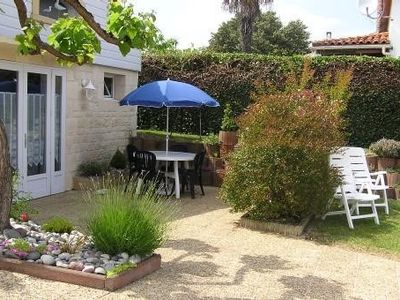 Photo for House Bungalow 800 m from the shops of St Georges de Didonne. Pleasant surroundings