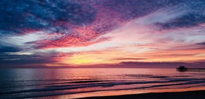 Photo for On the Sand in the Heart Oceanside. Pacific Views abound at Dreams on the Sand!