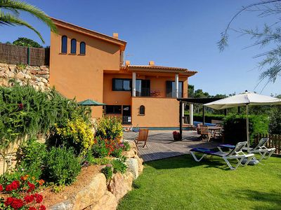 Photo for 4 bedroom Villa, sleeps 7 in Tamariu with Pool, Air Con and WiFi