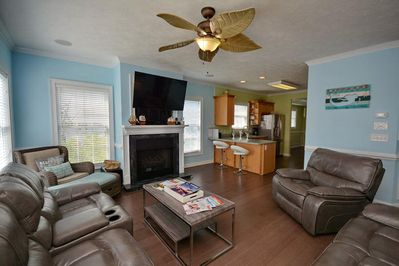 Enjoy family time in the comfort of this main level living room.