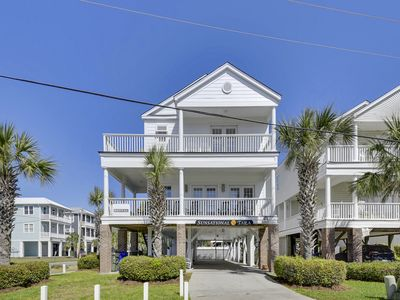 Photo for Sunsational Beach House!  Ocean View balcony, across from beach, private pool